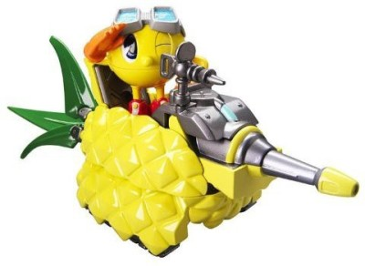 Pac-Man transforming fruit vehicle pineapple tank