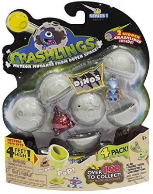 Crashlings Series 1 4 Pack Alien
