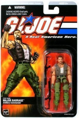 Toy Rocket Gi Joe Series 1 > Major Barrage