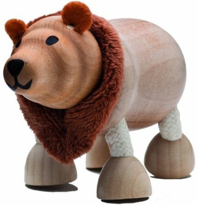 Anamalz Wild Brown Bear Wooden