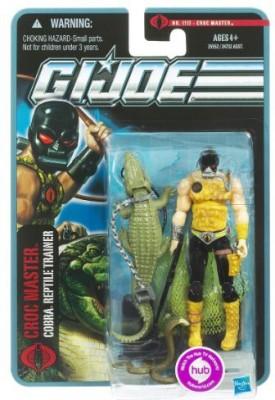 Hasbro Gi Joe Pursuit Of Cobra 3 3/4 Inch Croc Master