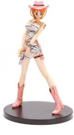 "Banpresto One Piece DX Girls Snap Collection 3 Figure - 6"" Nami(Multicolor)"