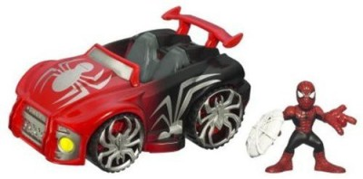 Marvel Superhero Squad Cruisers Vehicle Spidermans Web Wheels