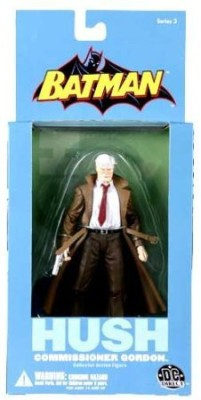 DC COMICS Batman Hush Series 3 Commissioner Gordon