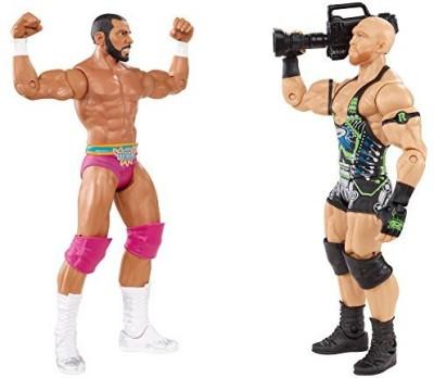 Mattel Wwe Battle Pack Ryback Vs Jinder Mahal 2Pack