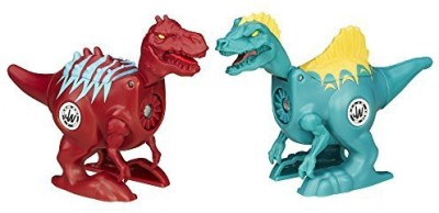 Jurassic Park World Brawlasaurs Carnotaurus vs. Ostafrikasaurus Figure Pack
