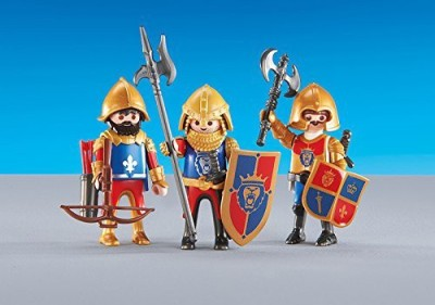 PLAYMOBIL 3 Lion Knights