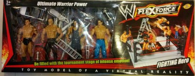 Vidya Ventures WWE Ultimate Warrior Power Arena Play