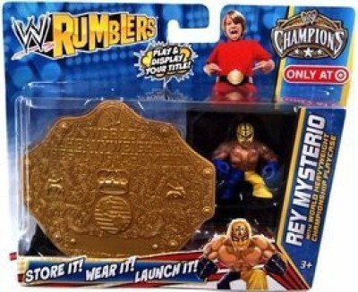 WWE Wrestling Rumblers Exclusive Rey Mysterio With World