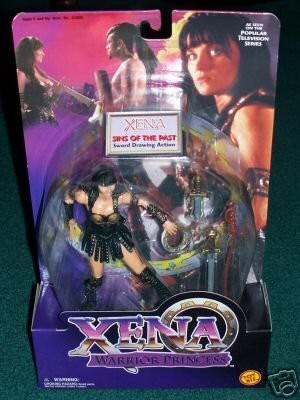 Xena Warrior Princess Sins of the Past Xena 6, Figure with Sword Drawing Action