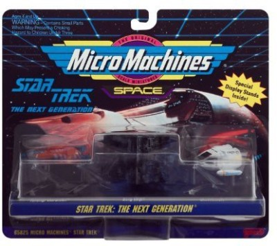 Micro Machines Star Trek the Next Generation(Multicolor)