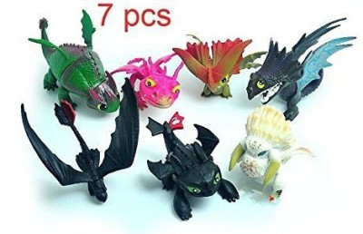 Dinglongshan How To Train Your Dragon 2 Toothless Power Dragon 7Pcs