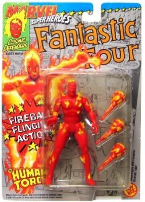 Fantastic 4 Fantastic Four Human Torch W/Fireball Flinging