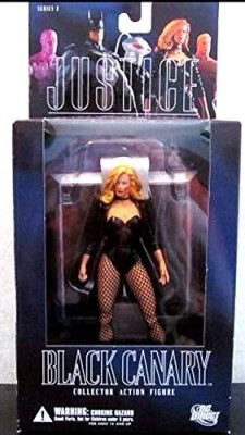 DC COMICS Alex Ross Justice League 2 Black Canary