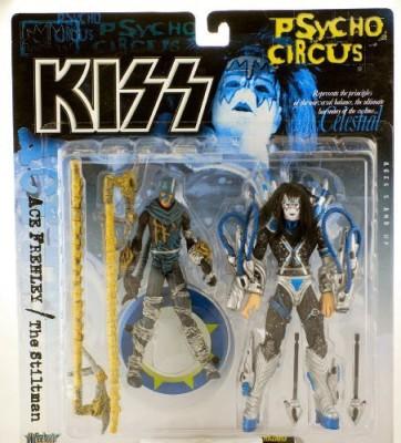 KISS Psycho Circus Kiss 1998 Mcfarlane Ace Frehley & The Stiltman Ultra