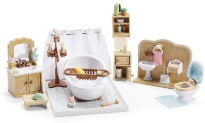 Calico Critters Deluxe Bathroom Set(Brown)