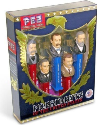 PEZ Candy Presidents Of The United States Dispensers Volume 5 18811909