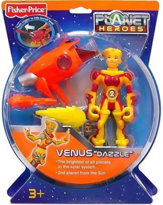Fisher-Price Planet Heroes Action Figure Venus Dazzle