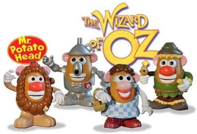 The Wizard of Oz Dorothy And Friends Mr Potato Head