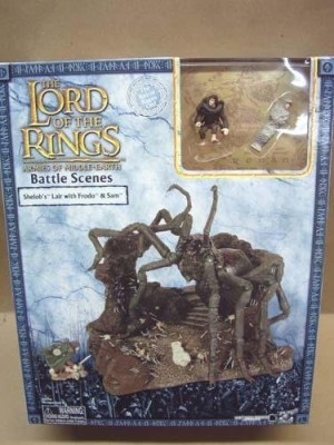 The Lord Of The Rings Shelob,S Lair With Frodo And Sam
