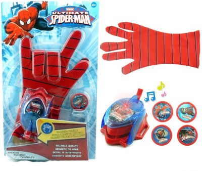 Lotus Ultimate Spiderman Gloves With Lights, Music & Trancmitter