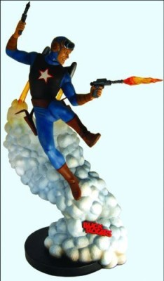 Dark Horse Comics Reelart Studios Buck Rogers Statue