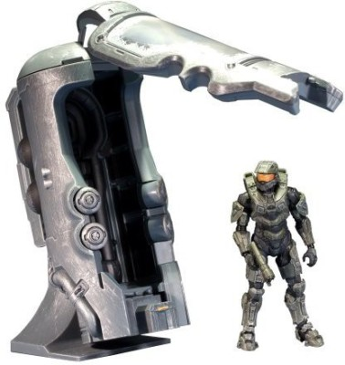 McFarlane Toys Halo 4 Series 1 Frozen Master Chief With Cryotube Deluxe
