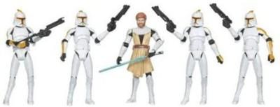 Hasbro Star Wars Clone Wars Exclusive Battle Pack Obiwan Kenobi