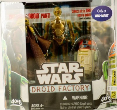 Star Wars Saga 2008 Buildadroid Factory 2Pack Kit Fisto And R4H5