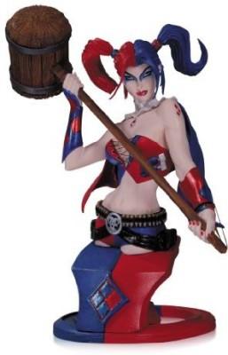 DC COMICS Collectibles Super Villains Harley Quinn Bust
