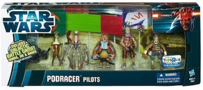 Hasbro Star Wars 2012 Clone Wars Exclusive Battle Pack Podracer