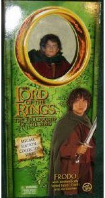 The Lord Of The Rings Frodo Doll Special Edition Collector Series Fellowship
