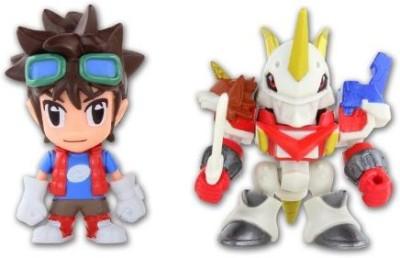 Digimon Fusion Mikey + Shoutmon X4