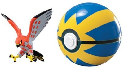 Tomy Pokmon Clip & Carry Pok Ball Talonflame + Quick Ball