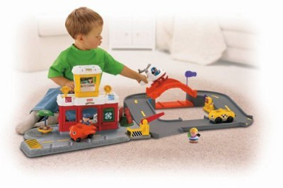 Little People Fisherprice Airport Playset Red