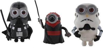 Tootpado Cartoon Space Wars Super Hero Action Figure Toys (1c330) - Pack of 3