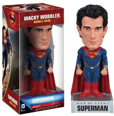 Funko Dc Comics Man Of Steel Movie Superman Wacky Wobbler