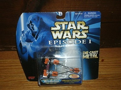 Micro Machines Star Wars Episode I Fleet Sebulba,S Pod Racer(Multicolor)