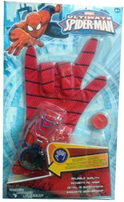 Shop & Shoppee Ultimate Spiderman Gloves with Disc launcher