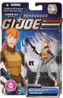 Hasbro Gi Joe Renegades 375 Inch Scarlett Undercover Agent