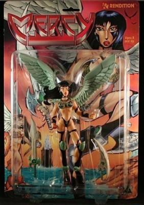 Rendition Mercy Avatar Press 7 Inch 1998 & Accessories