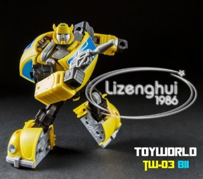 Toy World Transformers Tw03 Bii Bumblebee