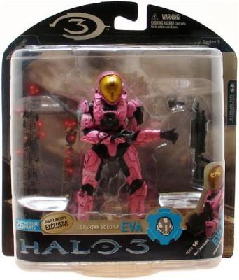 Halo 3 Series 3 Spartan Soldier Eva Pink Ver