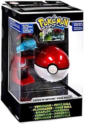 Pokemon Tomy Trainer,S Choice Catch ,N, Return Poke Ball Venusaur
