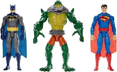 Mattel Dc Universe Batman Reptile Rage Battle Pack