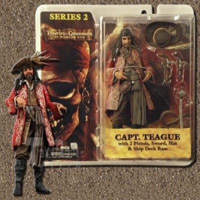 Pirates of the Caribbean At World's End Series 2 > Captain Teague Action Figure