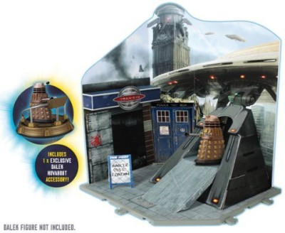 Underground Toys Doctor Who Dr Who Time Zone Playset Dalek Invasion Inc