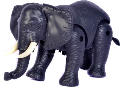 Peek-Aboo Battery Operated Elephant Toy(Black)