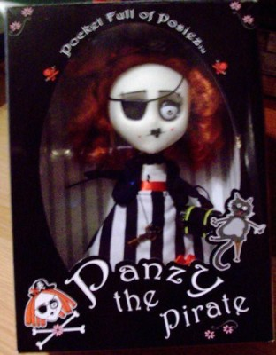 October Toys Posiez Crew Panzy The Pirate Doll