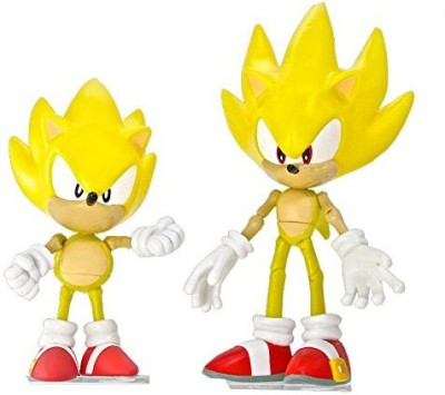 Jazwares Sonic the Hedgehog 20th Anniversary Sonic Through Time 5 inch Action Figure 2-Pack